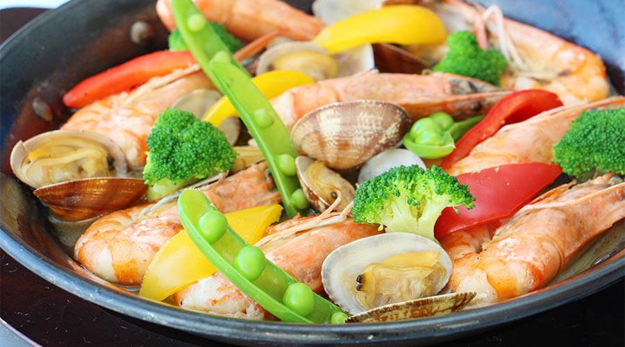本日の鮮魚のカルパッチョ